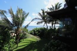 beach house from beach lanai
