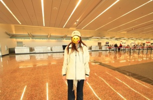 anchorage airport ガラガラで大満足😍